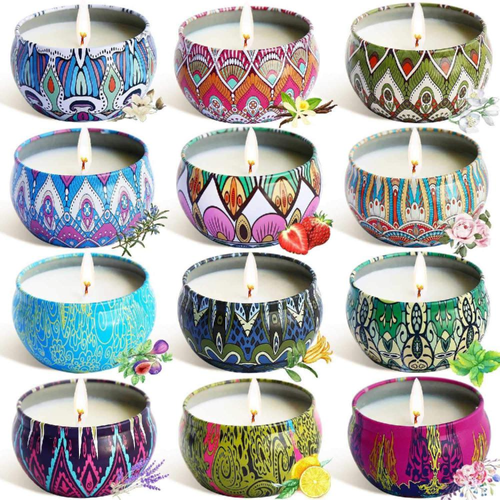 Ethnic Style Fragrance Candles For Home Decor