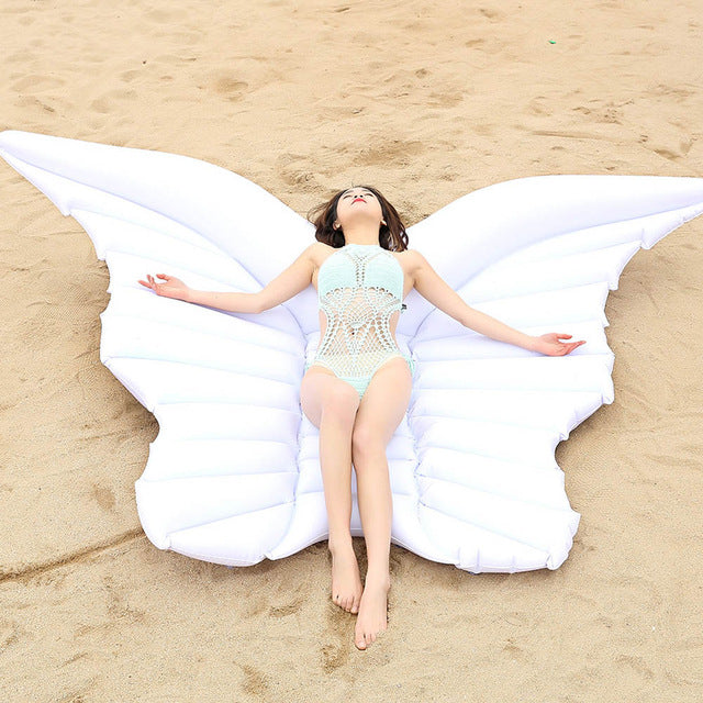 Giant PVC Angel Wings Floating Water Mattress
