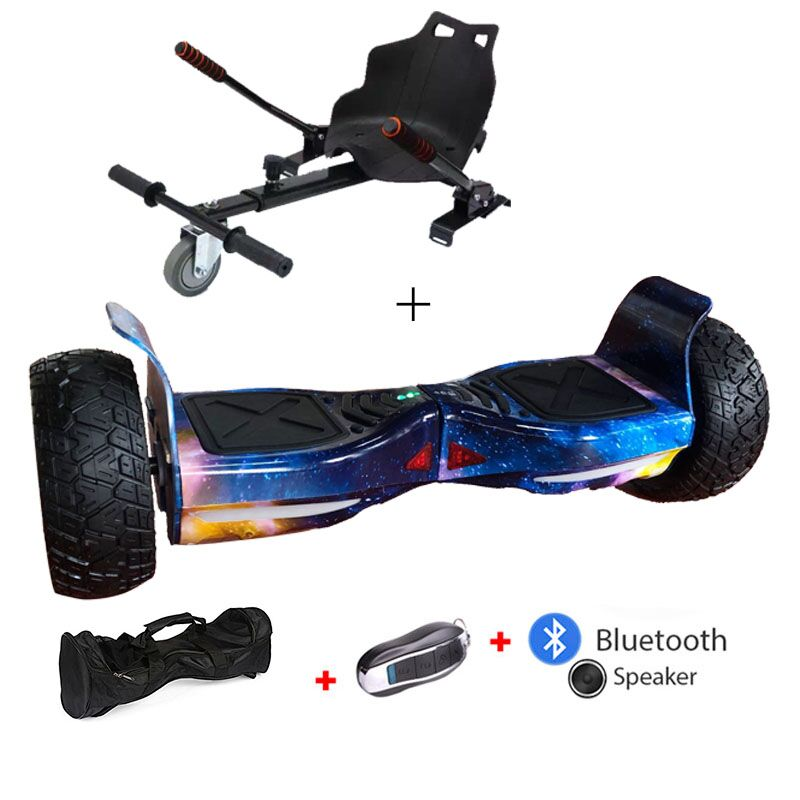Electric Hoverboard With Bluetooth Speakers