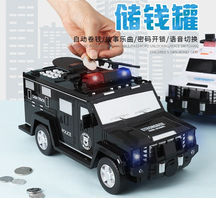 Police Money Transfer Vehicle For Kids