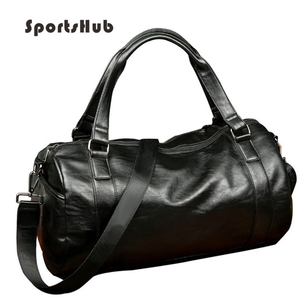 Top PU Leather Men's Sports Bags
