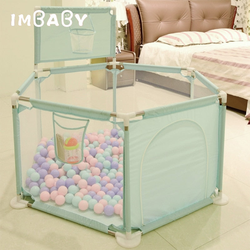 Baby Ball Pool With Soft Balls