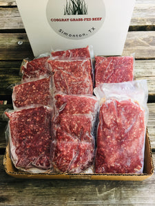 10 lb. Ground Beef Box