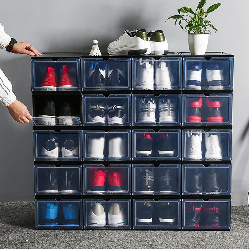 Stackable Dustproof Sneaker Storage Container