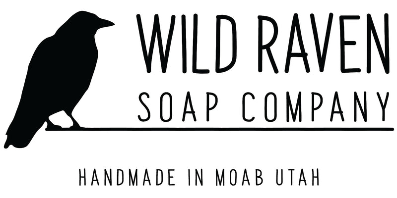 Based in Moab, Utah Wild Raven Soap Company is a small soap and skin-care company that specializes in handmade, all-natural, non-GMO, vegan, gluten, free, organic products, made with natural colors and fragrances, and no chemicals or synthetic additives to provide the best non-toxic skin-care for you and your family.