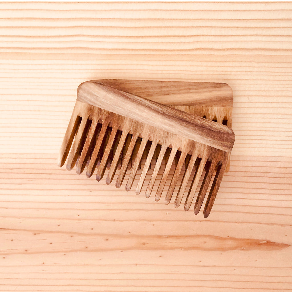 Wooden Pocket Beard Combs