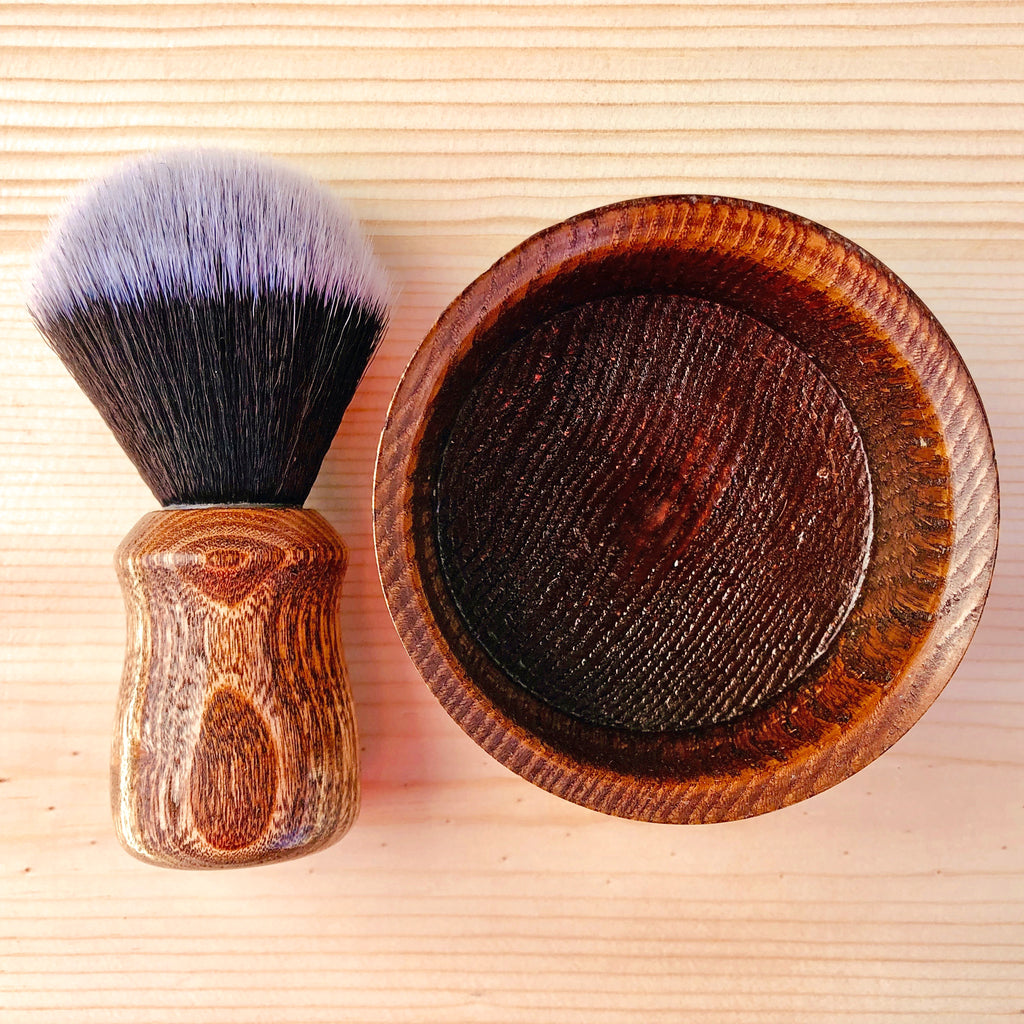 Shave Bowl & Brush Set