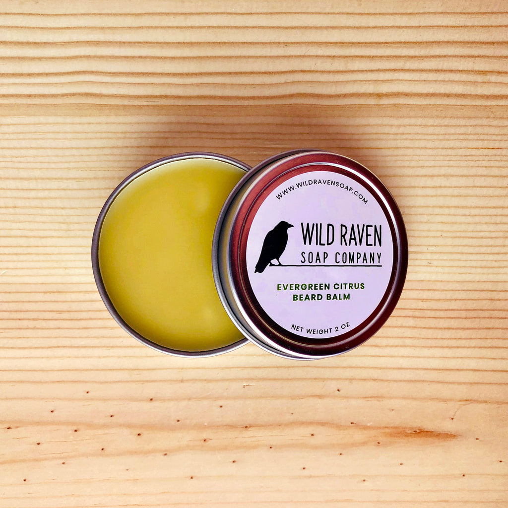 Evergreen Citrus Beard Balm