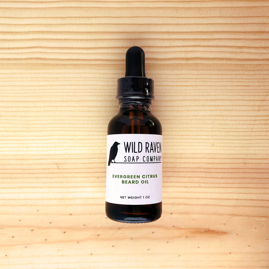 Evergreen Citrus Beard Oil