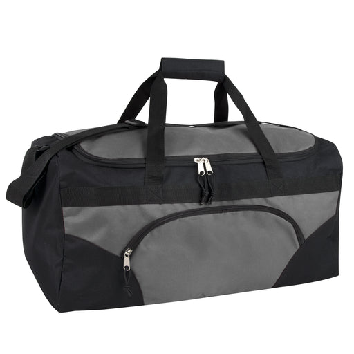 Wholesale 56cm Duffel Bag 43L Capacity - Grey