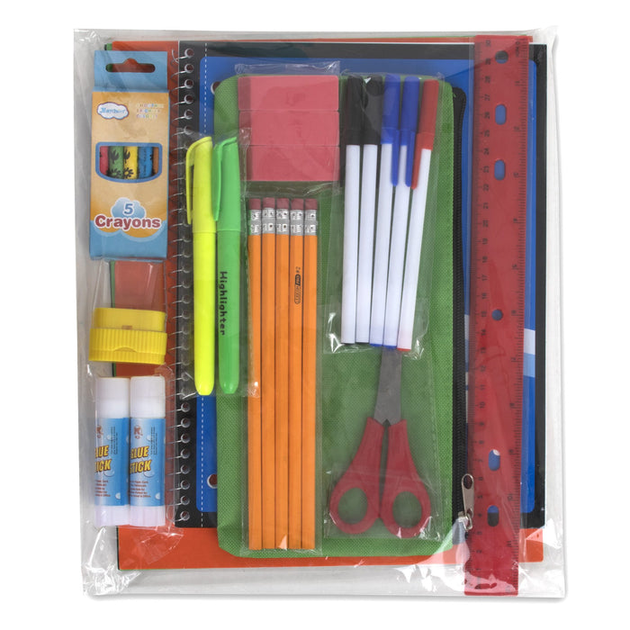 Wholesale 30 Piece School Supply Kit -