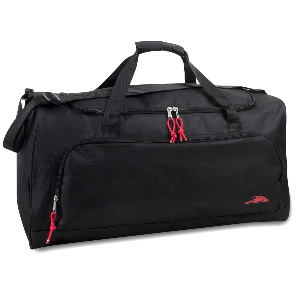 Wholesale 61cm Duffel Bag 54L Capacity - Black