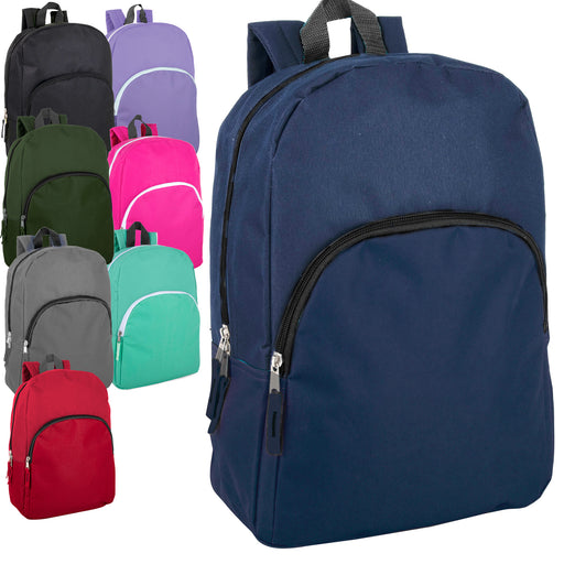 Wholesale 38cm Promo Backpack 15L Capacity - 8 Colours