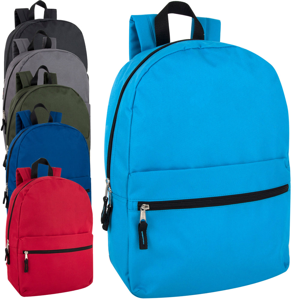 Wholesale Classic 43cm Backpack 20L Capacity - 6 Colours