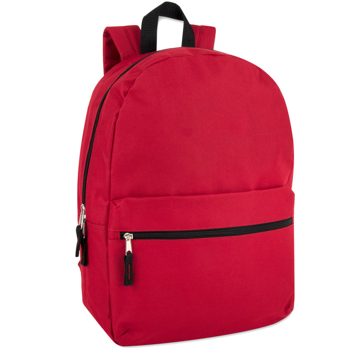 Wholesale Classic 43cm Backpack 20L Capacity - 12 Colours