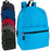 Wholesale 46cm Backpack 25L Capacity With Side Pocket - 6 Colours