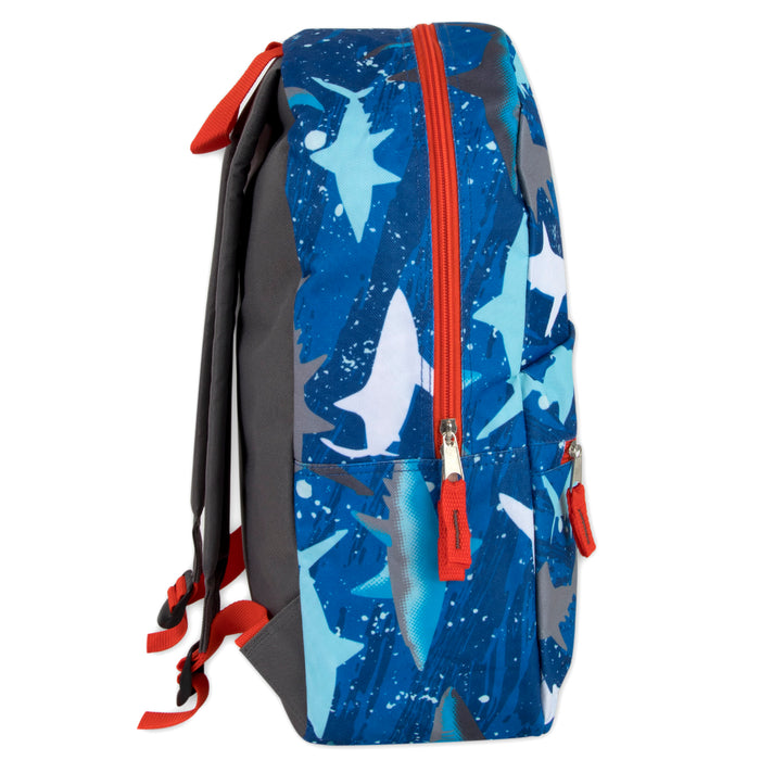 Wholesale 43cm Printed Backpacks 20L Capacity - 6 Patterns