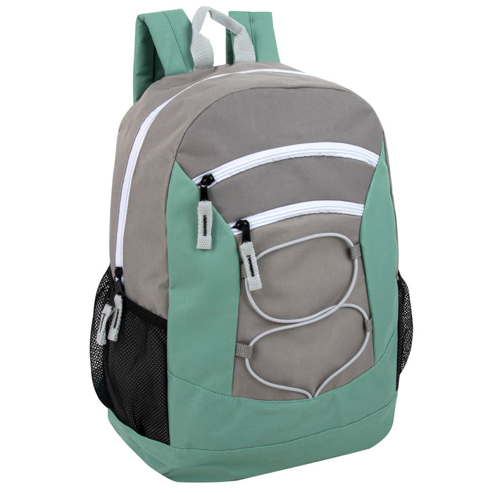 Wholesale 46cm Bungee Backpack 30L Capacity - 4 Colourways