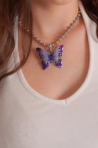 Y2K Butterfly Necklace