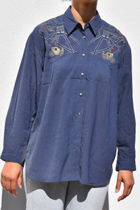 French Embroidery Blouse
