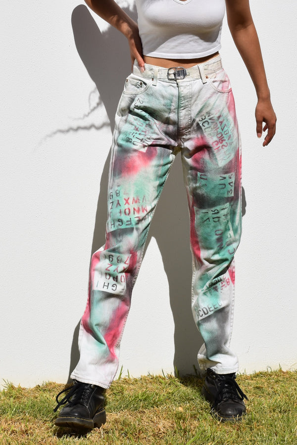 The Stencil Jeans