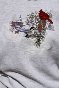 90's Winter Meadows Sweater