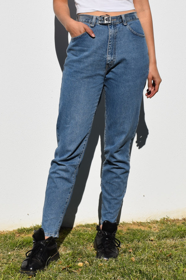 90's Mid Wash Denim Jeans