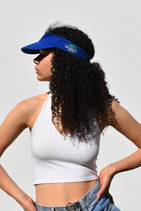Blue Polo Sports Visor