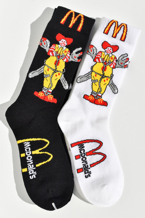 Scary Ronald Socks