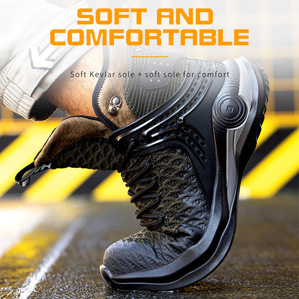 safety shoes, work sneakers, steel-toe shoes