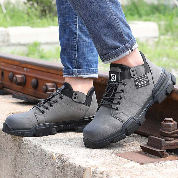 Protecker-safety boots -steel-toe shoes Hyper Boots  -Hyper Boots-  GYS 9136-12
