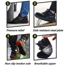 Lightweight Breathable Steel Toe Shoes for Men/Women - LD588