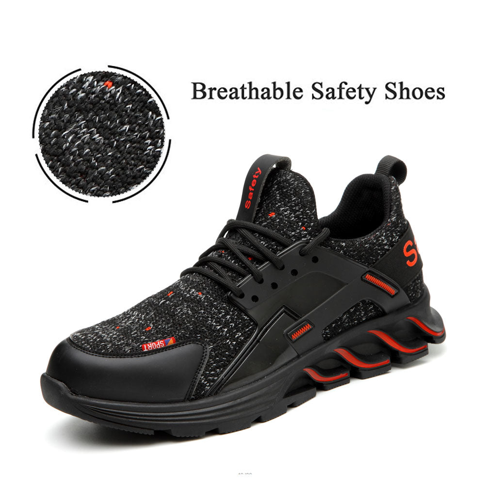 Steel Toe Shoes Work Safety Shoes for Men and Women