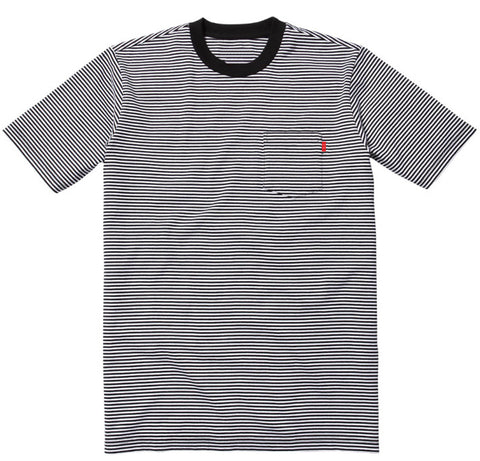 Waldo Stripe Pocket Tee