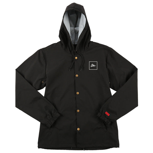 Box Hooded Coach Jacket