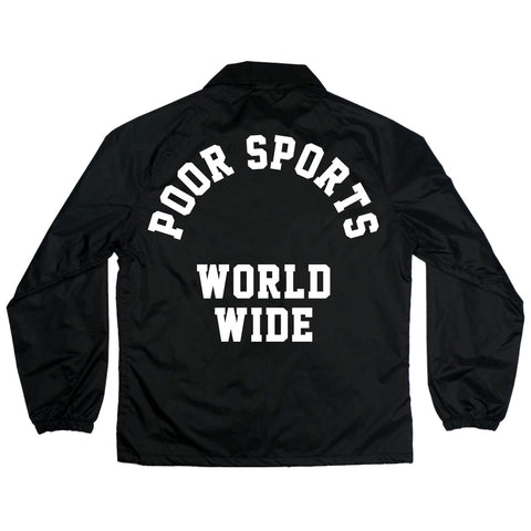 Poor Sports World Wide Coach Jacket
