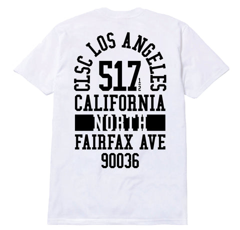 517 Fairfax Tee - White / Black