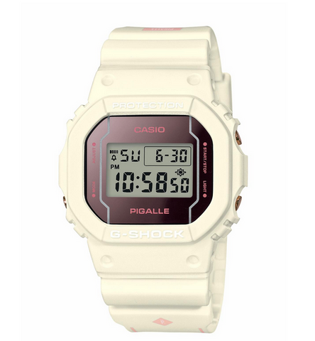 G-Shock x Pigalle - Limited Edition DW5600PGW-7