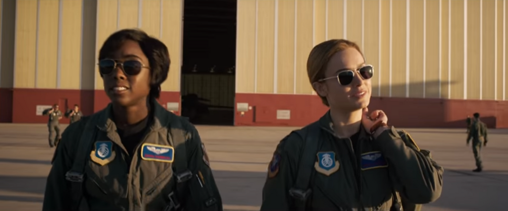 Captain Marvel & Randolph Engineering: Pilot Sunglasses for Superheroes