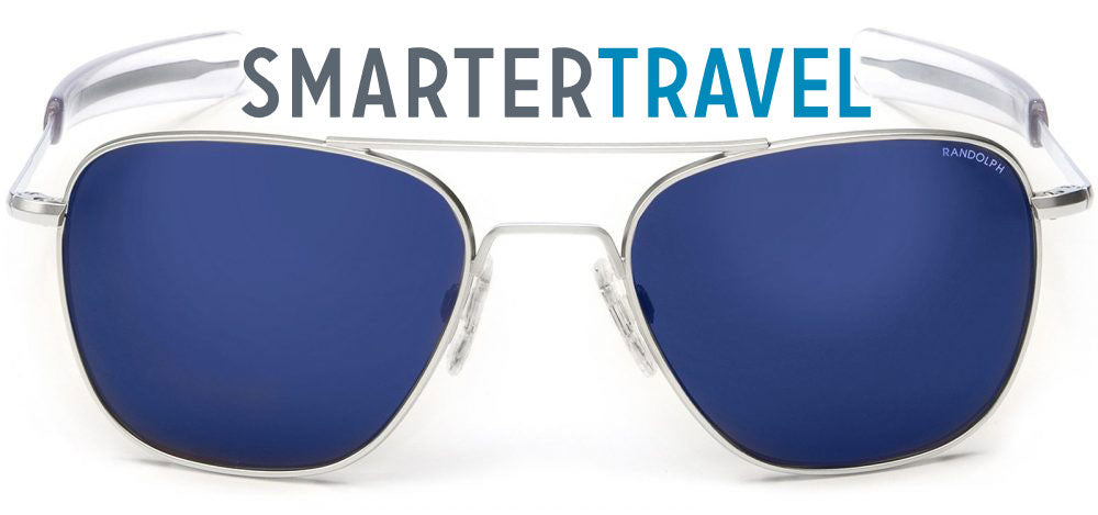 "Smarter Travel Spotlights Randolph Aviators for ""Best Travel Outfits"""