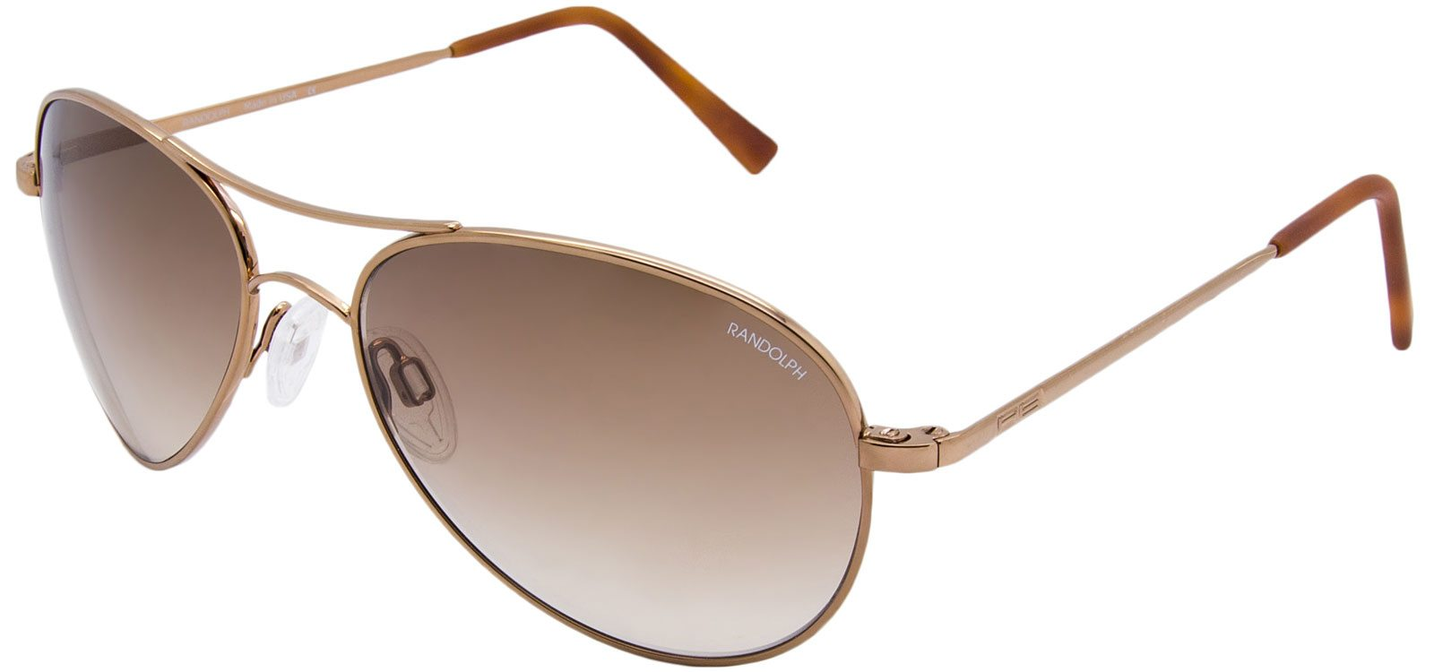 Women's aviator sunglasses to wear at formal events: the Amelia. | Randolph Engineering