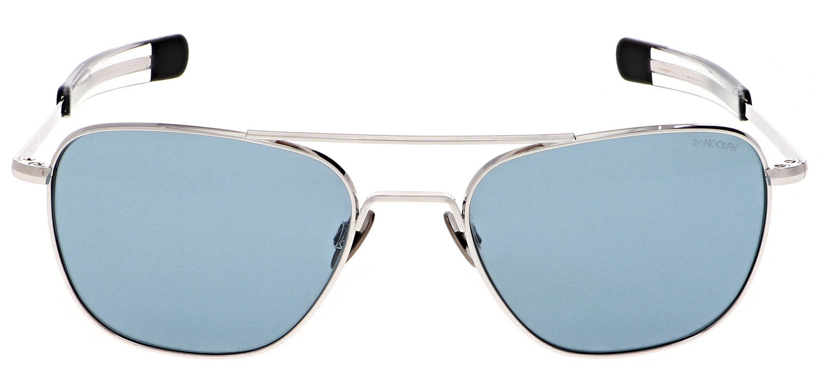 The Aviator in White Gold and Blue Hyrdo Lens. | Randolph Engineering