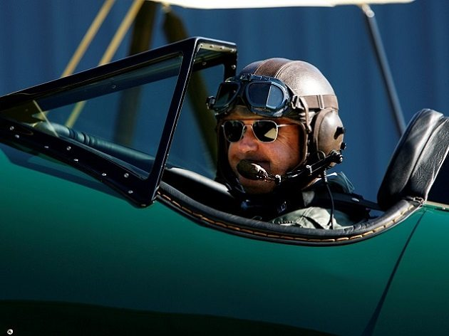 """Dave Unwin favors Randolph Aviators for flying because of """"their quality, robustness, comfort, excellent optics, and the fact that they look great!"""""""