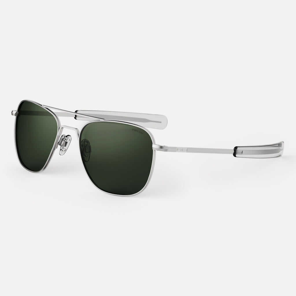 Aviator - Matte Chrome