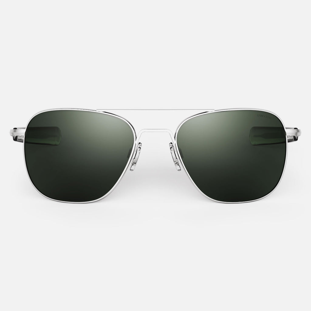 Matte Chrome & AGX Polarized Glass Lens