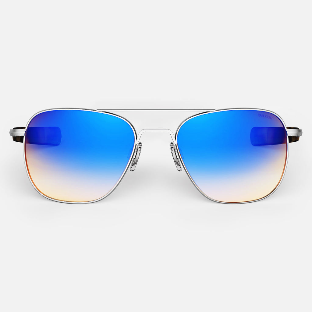 Matte Chrome & Northern Lights Polarized Gradient Lite Lens