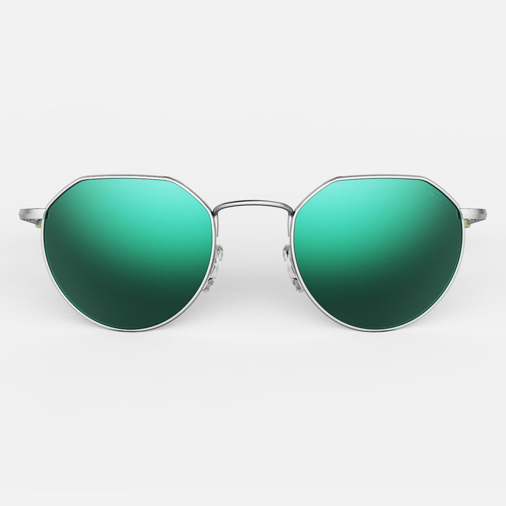 Matte Chrome & Acadian Polarized Mirror Lite Lens
