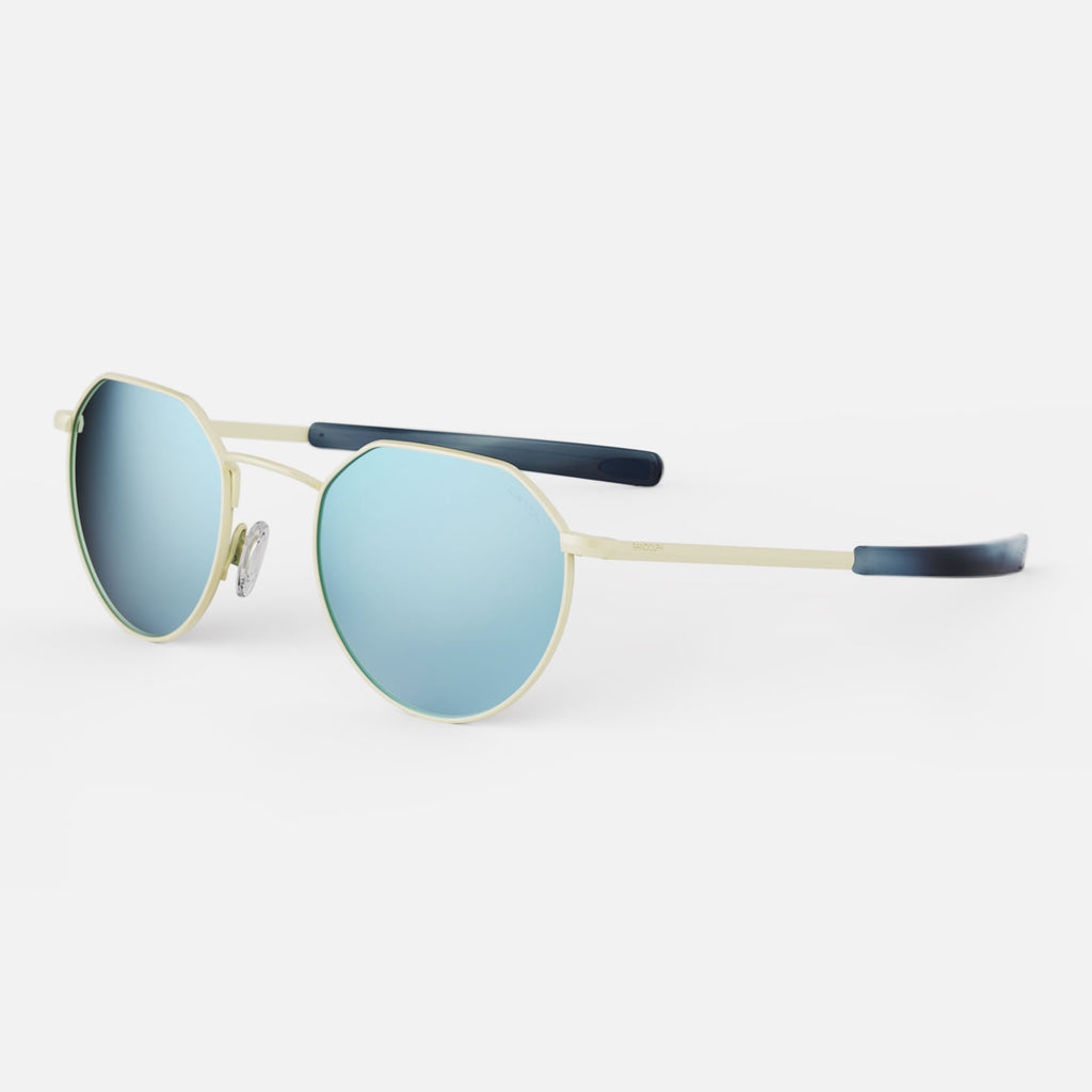 22k Champagne Gold & Mystic Blue Polarized Mirror Lite Lens