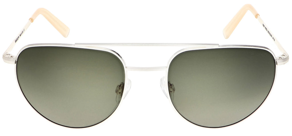 Satin Silver & Evergreen Non-Polarized Gradient Lite Lens
