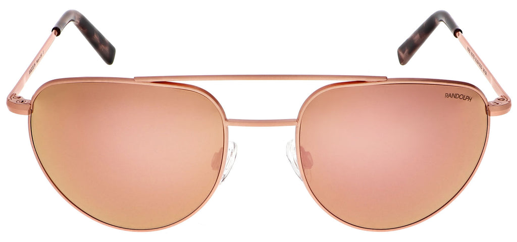 22k Blush Gold & Rose Gold Non-Polarized Mirror Lite Lens